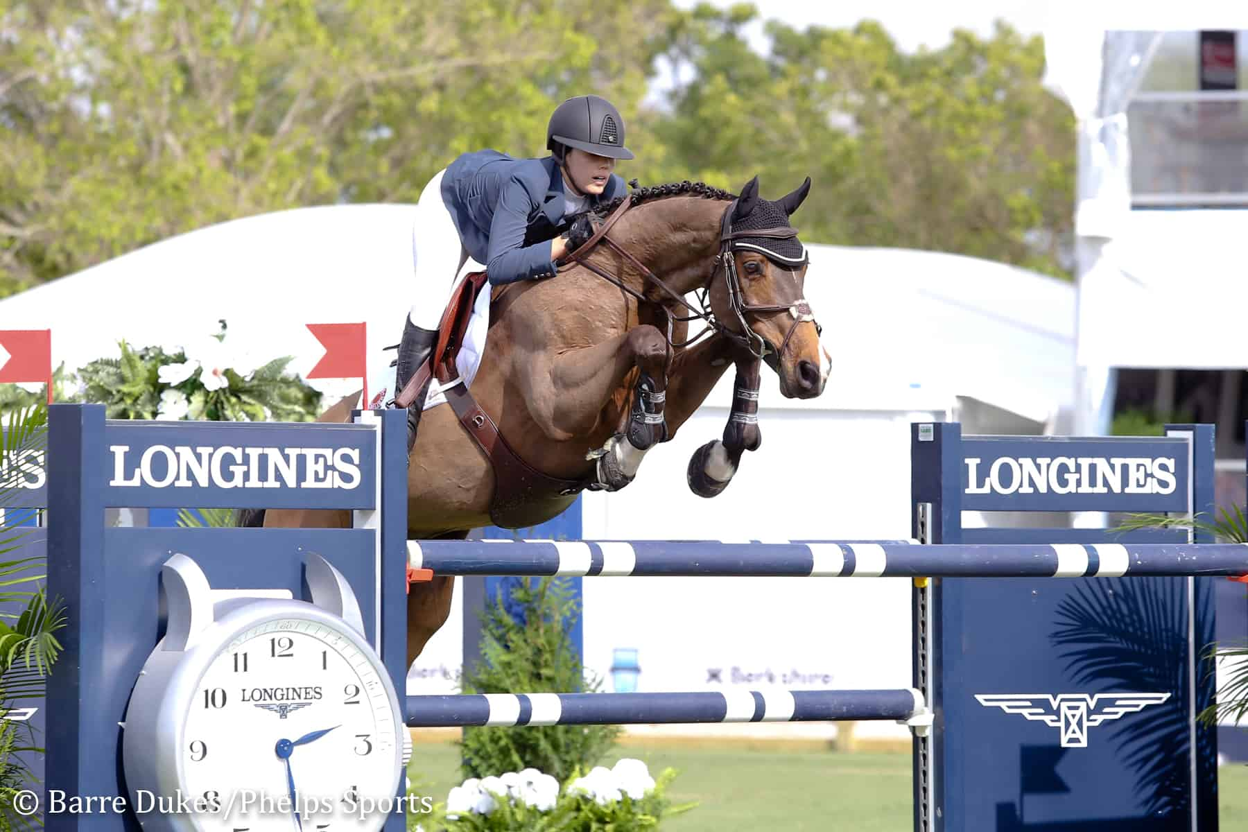 Karen Polle and With Wings at the 2019 Palm Beach Masters